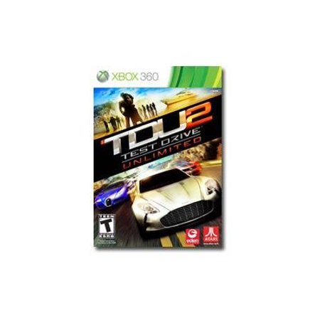 Test Drive Unlimited 2 With Exclusive Downloadable Car - Xbox (Best Car Racing Games For Xbox 360)