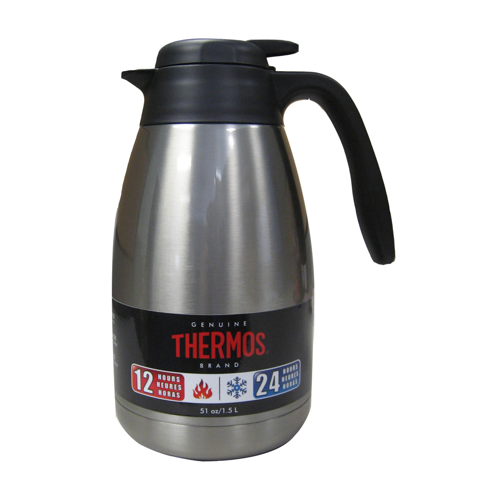 THERMOS STAINLESS STEEL CARAFE 51 OZ
