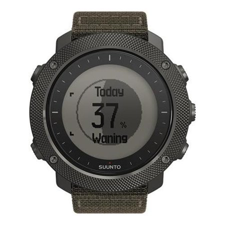 Suunto Traverse Alpha Stealth Watch, Foliage