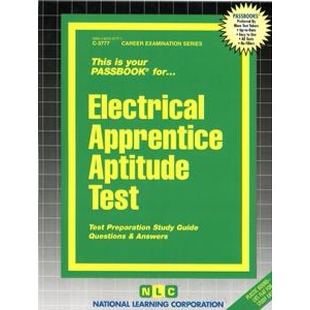 Electrical Apprentice Aptitude Test - eBook