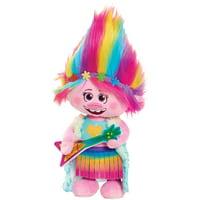 Trolls World Tour Dancing Poppy Feature Plush, Ages 3+