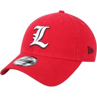 Louisville Cardinals New Era Team Core 9TWENTY Adjustable Hat - Red - OSFA