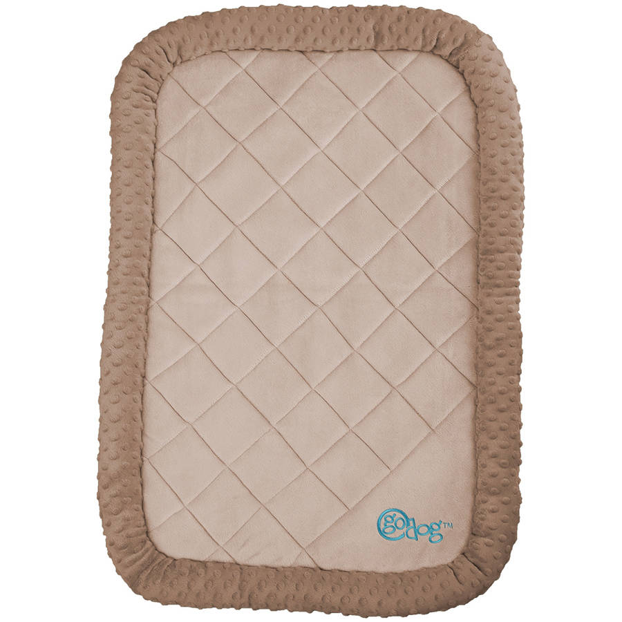 "GoDog Bedzzz Bubble Plush, Large 35"" x 23"""
