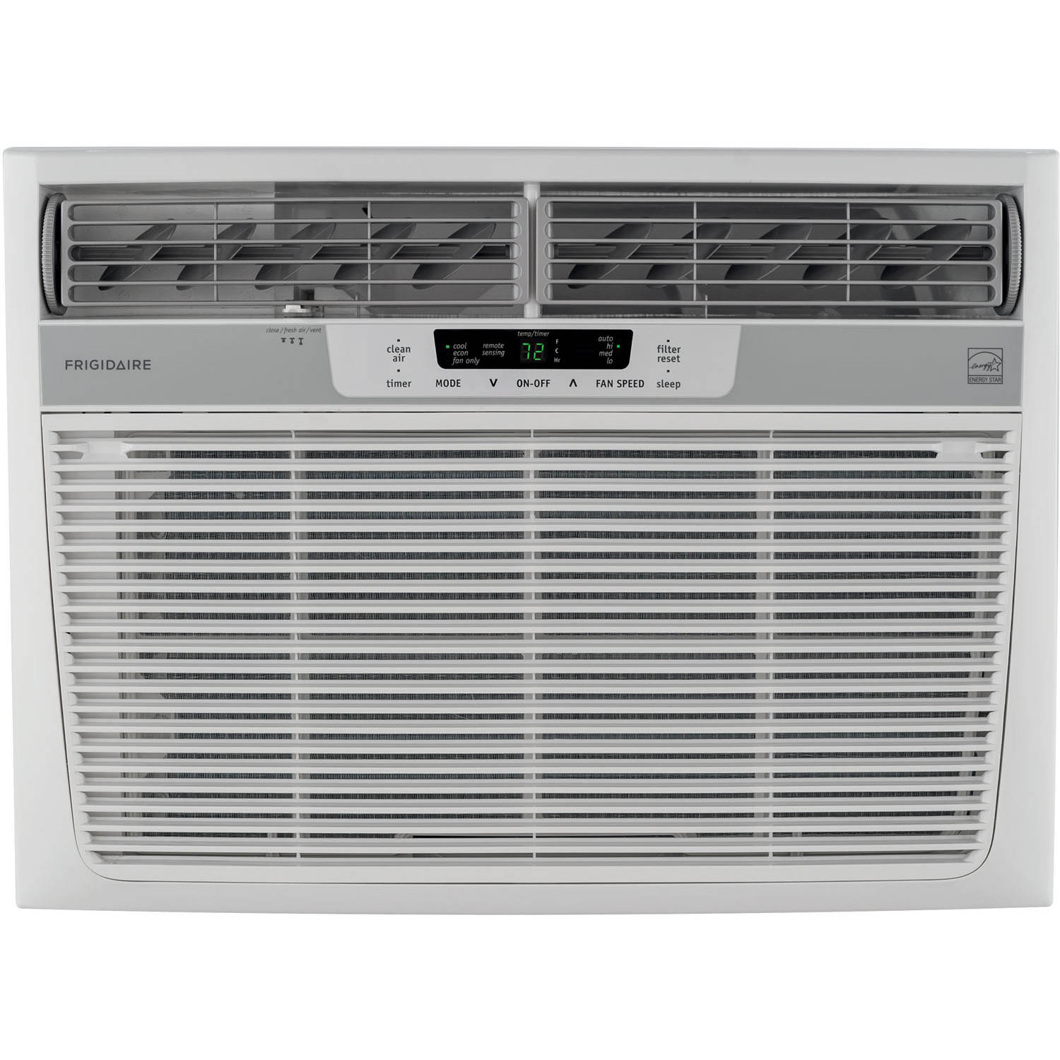 Energy Star 15,100 BTU 115V Window-Mounted Median Air Conditioner with Temperature Sensing Remote Control