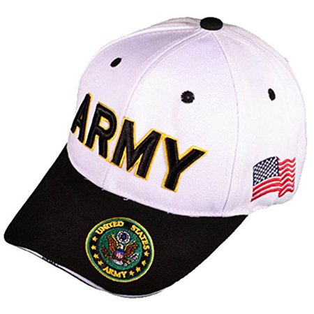 Buy Caps and Hats - Buy Caps and Hats U.S. Army Veteran Military Baseball  Cap Mens One Size White - Walmart.com fc9e9eb34bb