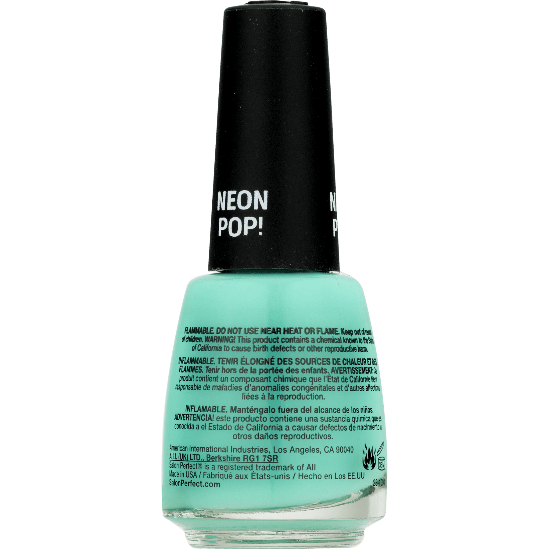 Salon Perfect Nail Polish, Mer-Made of Money, Turquoise - Walmart.com
