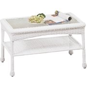Worldwide Sourcing 2116160C Avondale Woven Coffee Table