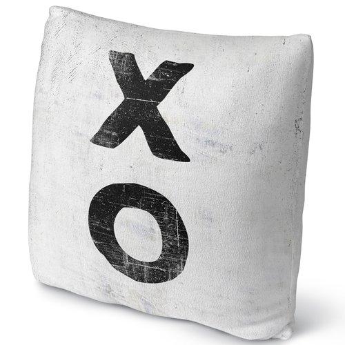 KAVKA DESIGNS Xo Throw Pillow