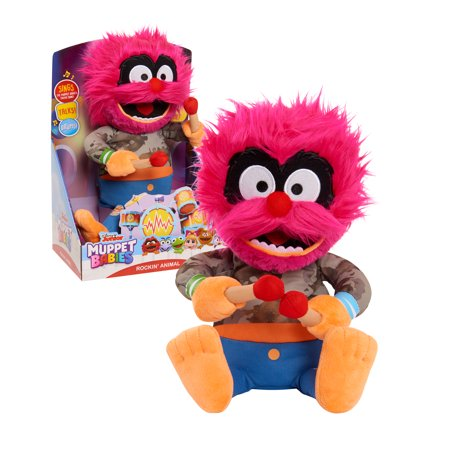 Muppet Babies Rockin' Animal Animated Plush, Ages 3+ Now $9.97 (Was $19.99)