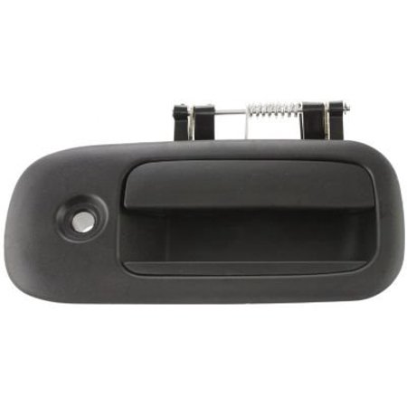 OE Rear Passenger Side Sliding Door Black Exterior Door Handle with Keyhole for GMC/Chevrolet - C494703, This is an affordable direct fit OE comparable.., By Replacement from USA ()