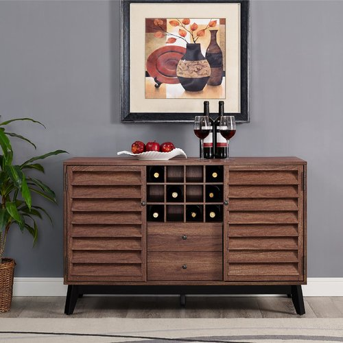 Ameriwood Home Vaughn Wine Cabinet, Multiple Colors