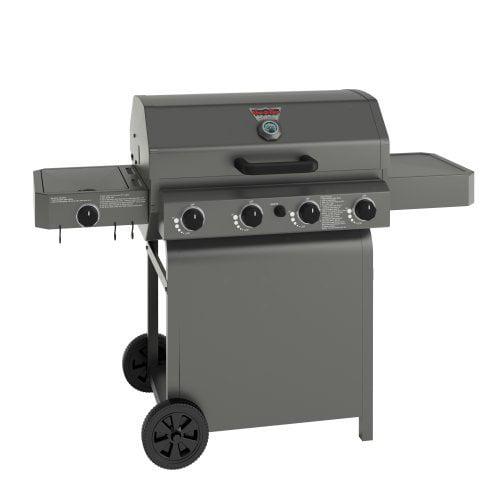 Char-Griller 4008 4 Burner Propane Gas Grill