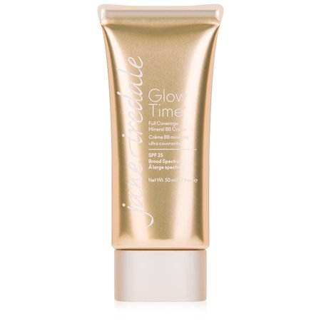 jane iredale Glow Time Full Coverage Mineral BB Cream, BB6(Light-Medium), 1.70 -