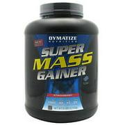 Dymatize Super Mass Gainer Protein Powder, Strawberry, 52g Protein, 6 Lb