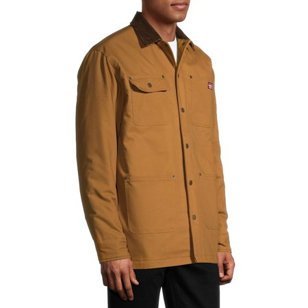 Wrangler Men's Flex Barn Chore Coat Jacket with Warm Durable Blanket Lining