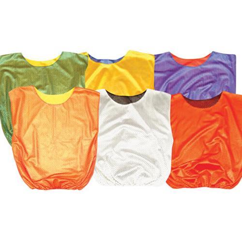 Mesh Reversible Scrimmage Vests-Adult-Color:Red/Black