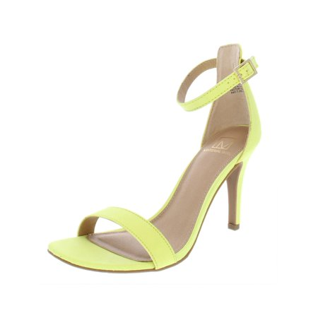 Material Girl Womens Blaire5 Faux Suede High Heel Dress