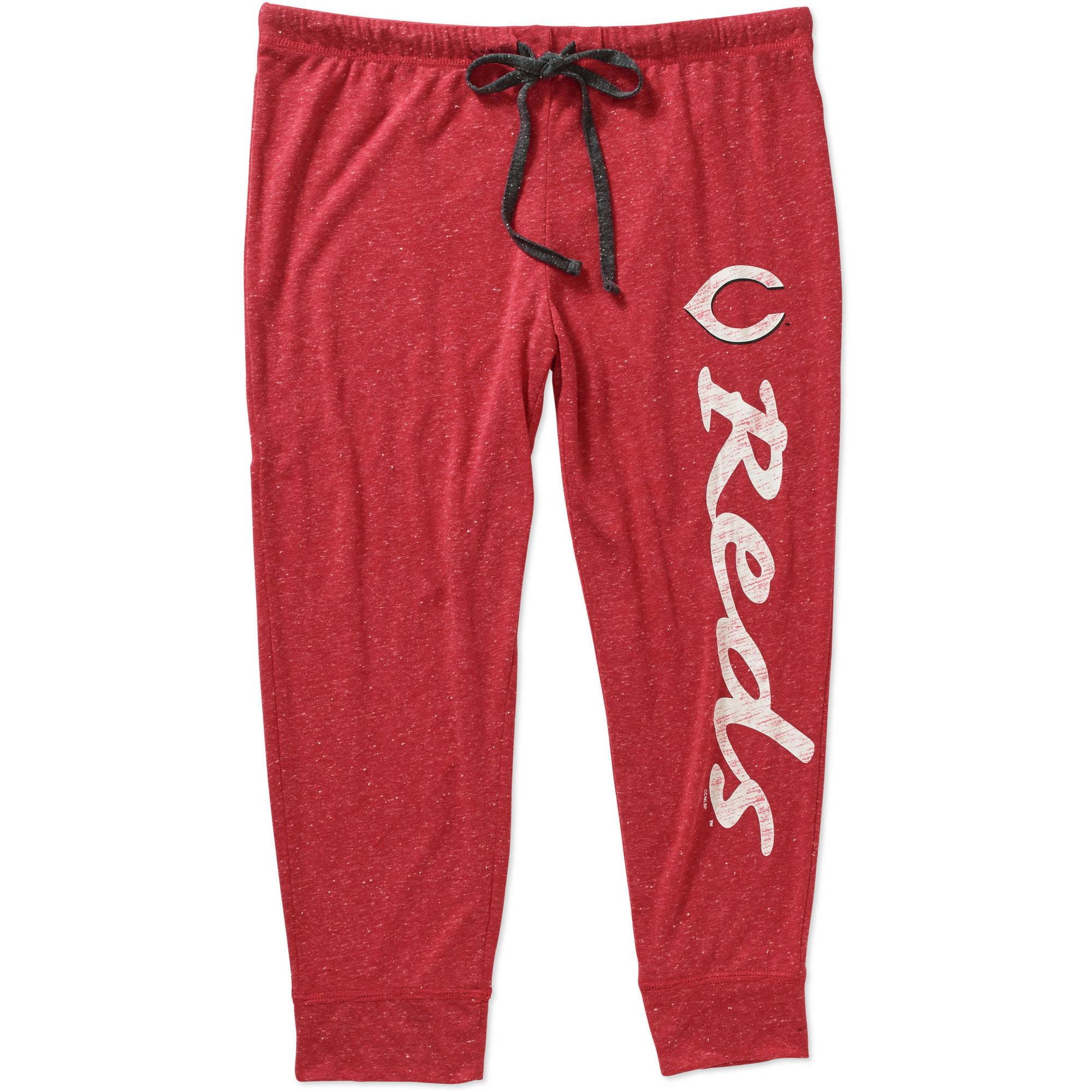 MLB Womens Cincinnati Reds Knit Capri