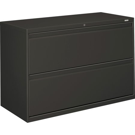 HON, HON892LS, Brigade 800 Series 2-Drawer Lateral, 1 Each, Charcoal - Hon Narrow Box