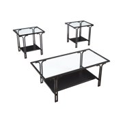 Signature Design by Ashley Geriman Occasional Table Set of 3, Black