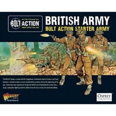 Warlord Games Bolt Action British Starter Army Multi-Colored
