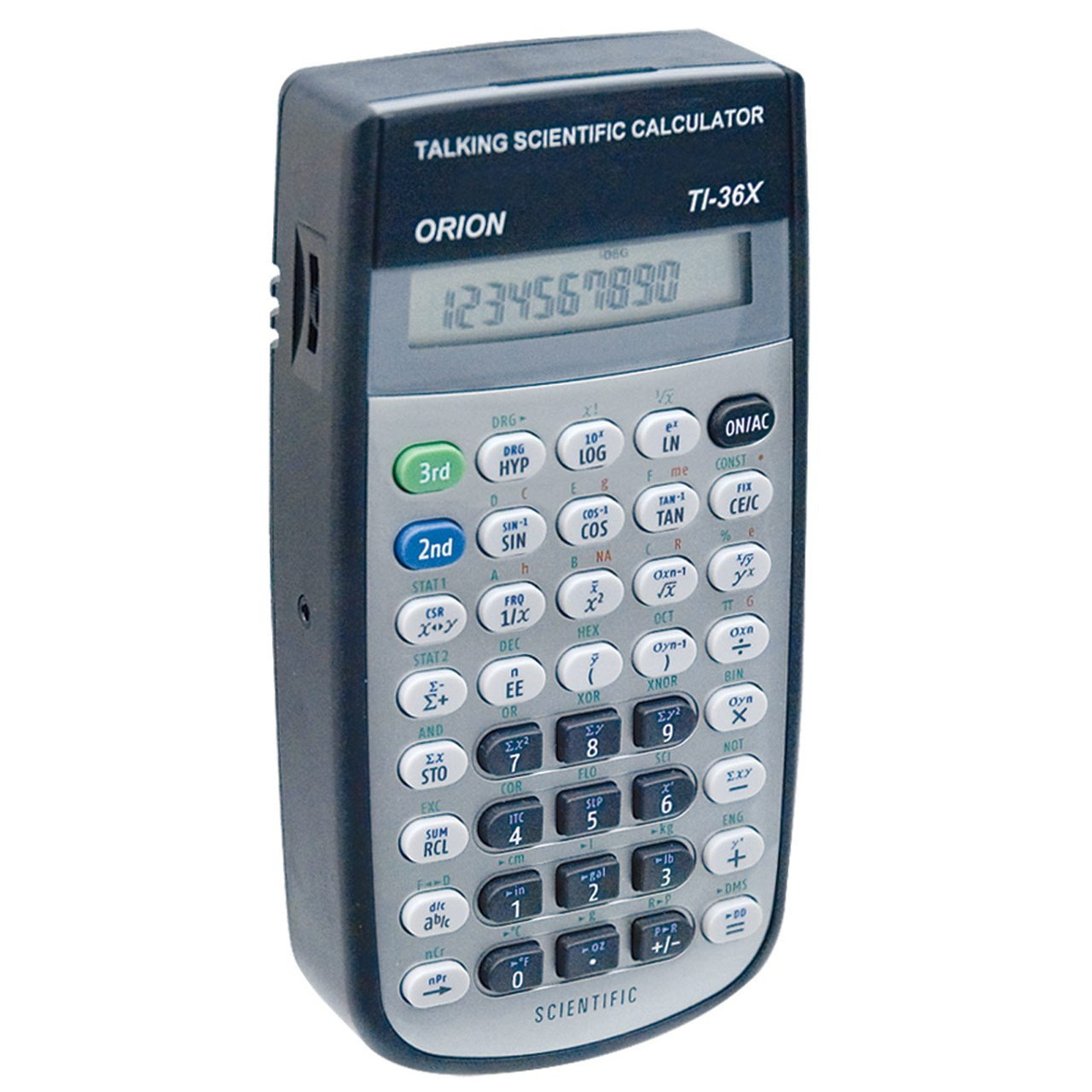 Maxiaids Orion T136X Talking Scientific Calculator