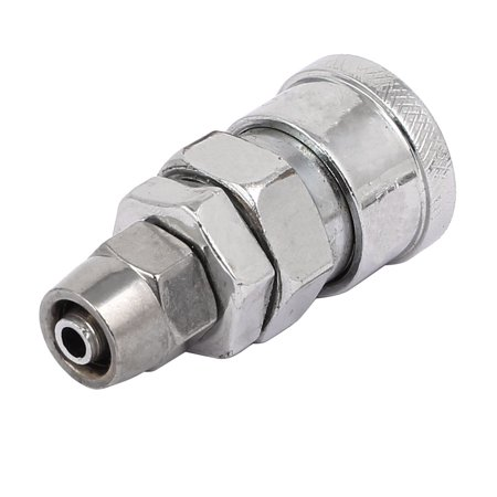 1-inch Air Inlet Dia Quick Fitting Pneumatic Connector Coupler for 8mm Tube Air Inlet Fitting