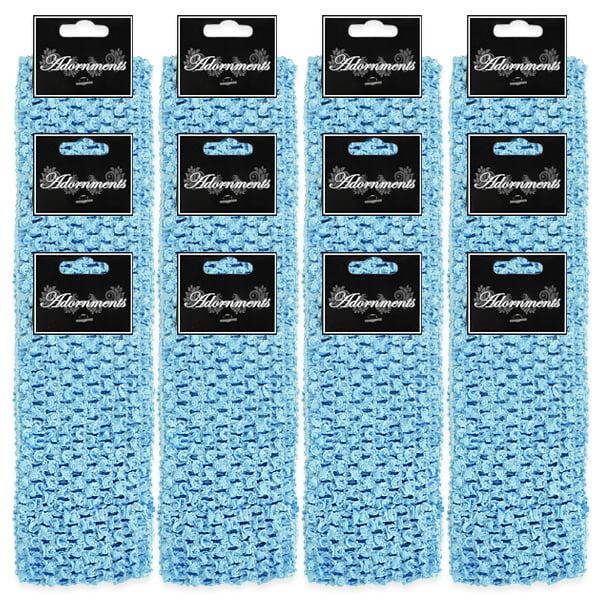 "Expo Int'l Pack of 12 2 3/4"" Crochet Headband"