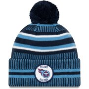 Tennessee Titans New Era 2019 NFL Sideline Home Official Sport Knit Hat - Navy/Light Blue - OSFA