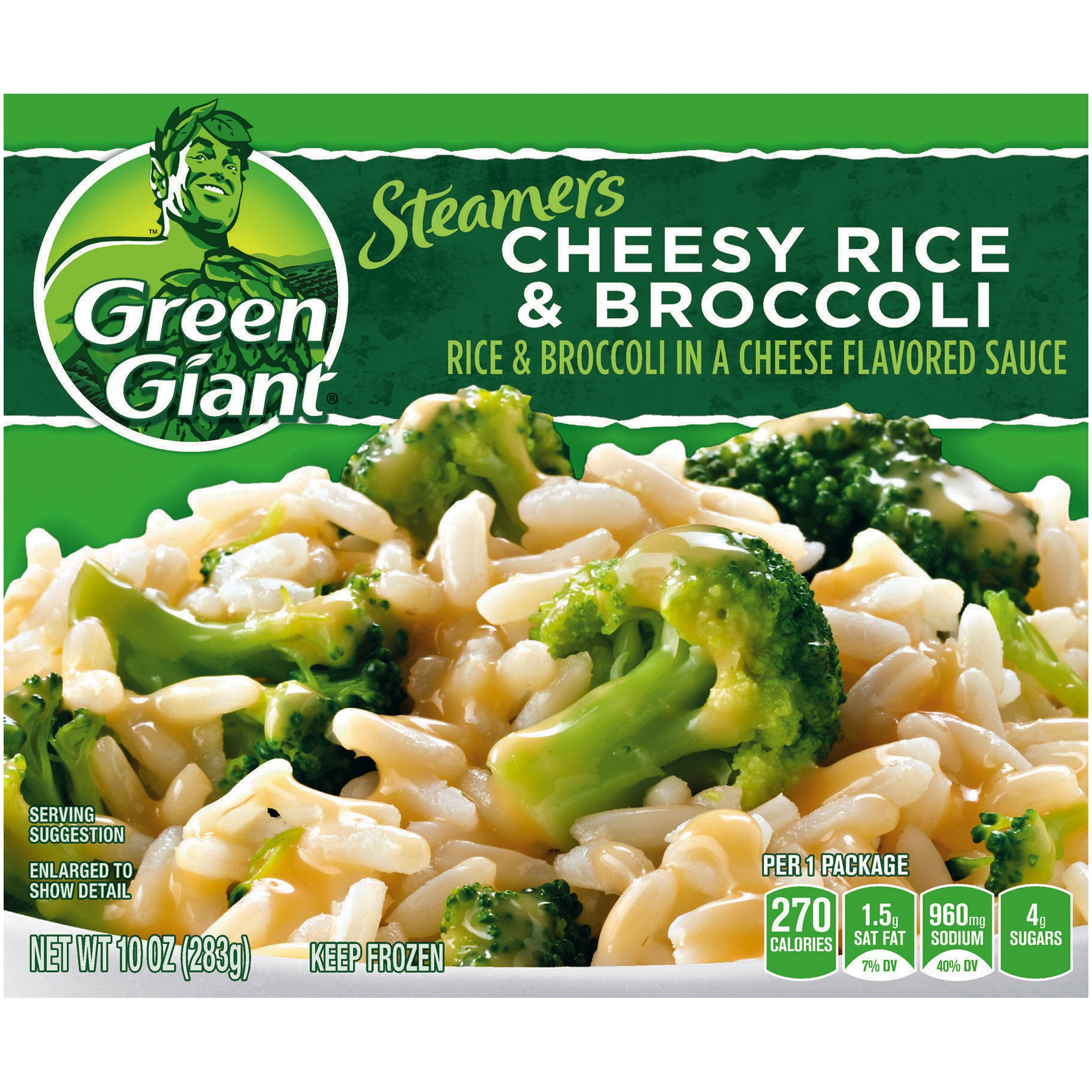 Green Giant�� Steamers Cheesy Rice & Broccoli 10 oz. Box