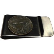 Bouncers Unlimited Handmade Oregon State Quarter Coin Money Clip