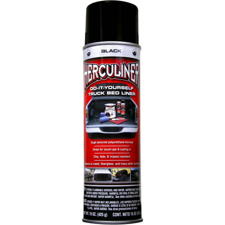 HERCULINER Truck Bed Liner, Black, 15 oz
