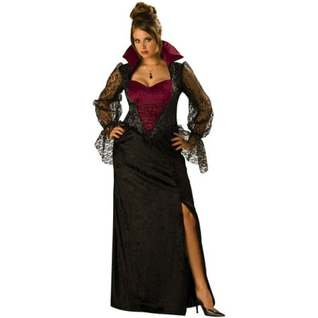 Midnight Vampiress Adult Halloween Costume - Vampiress Costume Ideas
