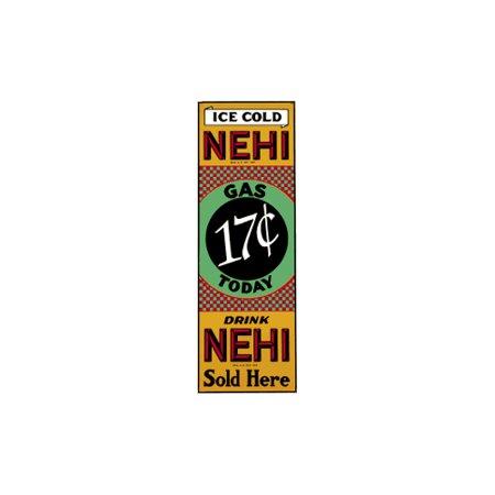 Ice Cold Nehi Porcelain Refrigerator Magnet (Cold Porcelain Index)