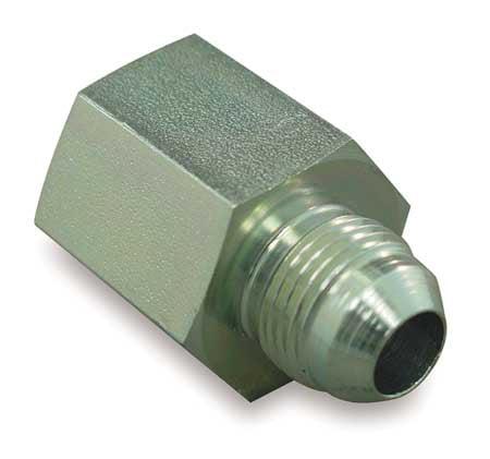 EATON 2022-8-8S Hose Adapter, NPT to JIC, 1/2-14x3/4-16