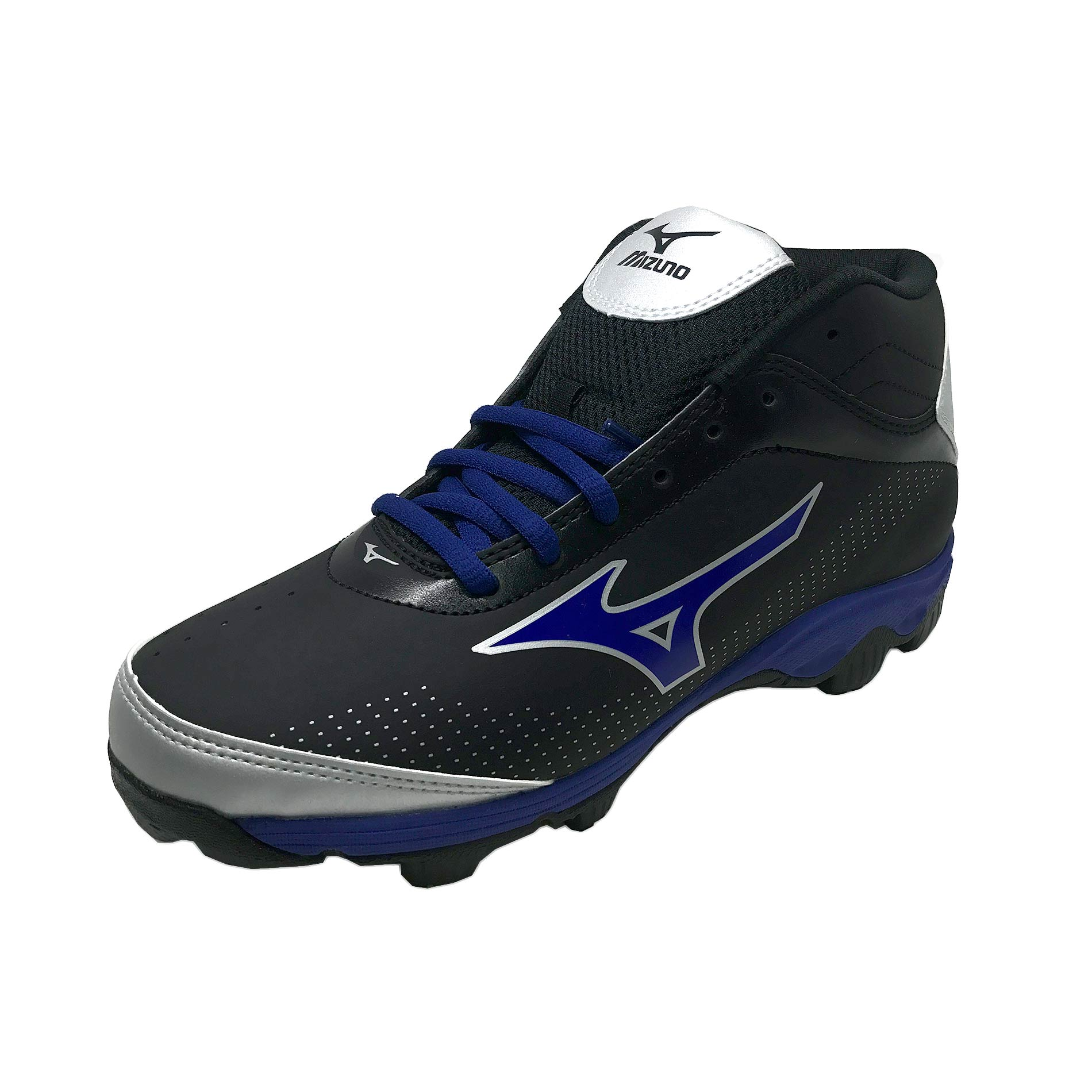 Mizuno Youth 9-Spike Franchise 7 Mid Molded Baseball Clea...