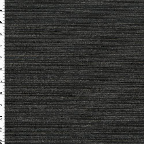 Black/Metallic Gold/Multi Stripe Chenille Decorating ...