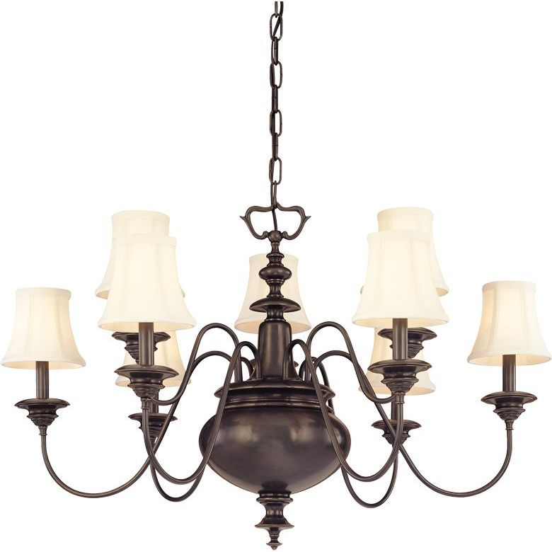 Hudson Valley HV-8719-AGB Chandelier Aged Brass