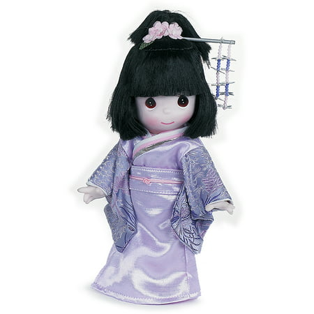 Japanese Doll Makeup Halloween (Precious Moments Dolls by The Doll Maker, Linda Rick, Masumi, Japan Children of the World, 9 inch)