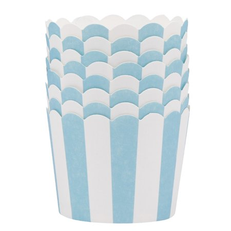 Paper Cupcake Baking Cups (Fancyleo 50 Pcs Colorful Oven Baking Cup Cake Tools Paper Tray Liners Baking Cup Muffin Cases Kitchen)