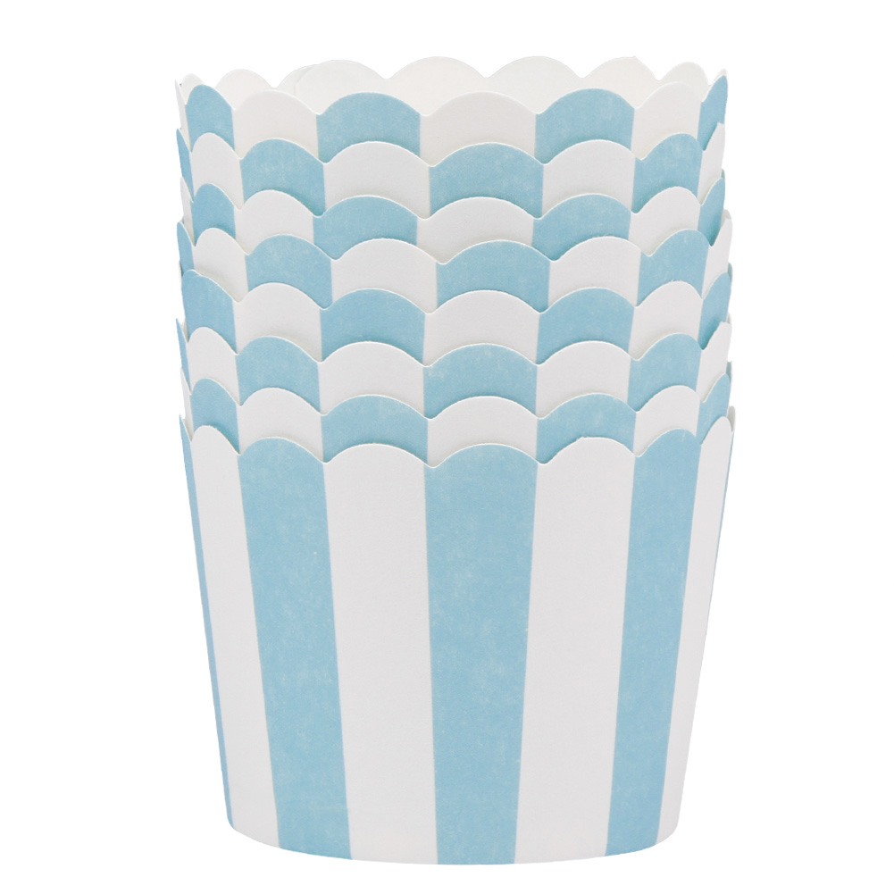 Fancyleo 50 Pcs Colorful Oven Baking Cup Cake Tools Paper Tray Liners Baking Cup Muffin Cases Kitchen Cupcake
