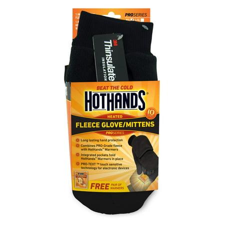 Back Mittens - HotHands Heated Mitten M/L Black
