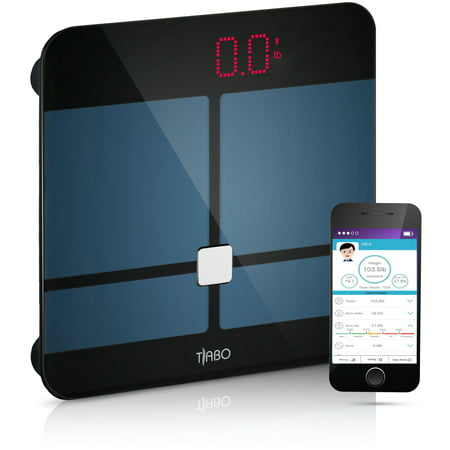 Bmi Bluetooth Body Fat Scale With For Ios And Android Wireless Digital Bathroom