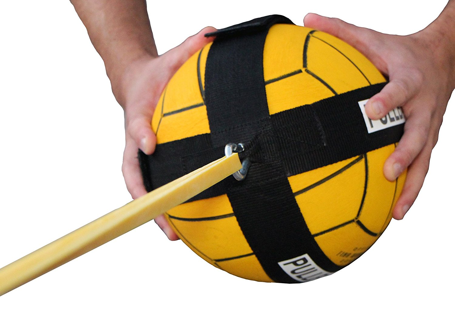 "PullBall Any Ball Sport Training Drills for Water Polo (Light 120"" Loop Band X 1 4"") by PullBall"