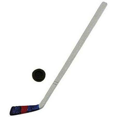 Dollhouse Miniature Hockey Stick w/Puck by International Miniatures - image 1 de 1