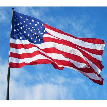 GTP 3'x5'FT Polyester US FLAG USA American Stars Stripes United States Grommets 13 Stripes United States Flag