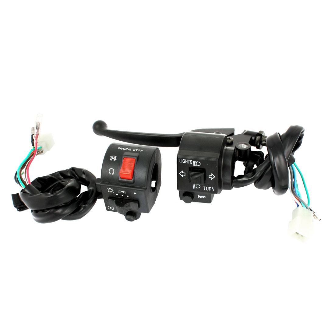 """Unique Bargains ATV Motorcycle Scooter 7/8"""" Combination Horn Starting Power Switch for Suzuki"""