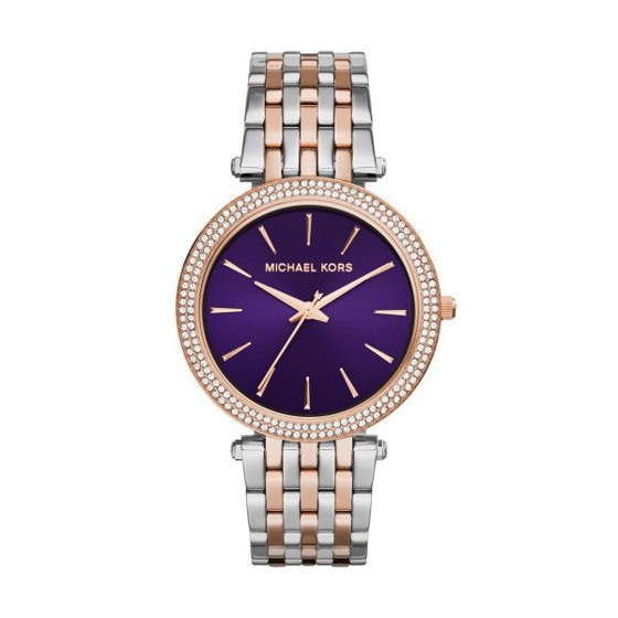 31f06f82a4177 Michael Kors - Women s Darci MK3353 Rose Gold Stainless-Steel Quartz  Fashion Watch - Walmart.com