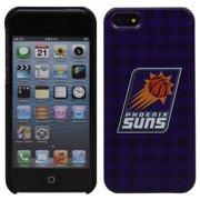 Phoenix Suns iPhone 5 Plaid Snap-On Case - Purple