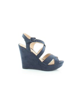 c002006427e Product Image American Rag Womens Rachey Open Toe Ankle Strap Wedge Pumps